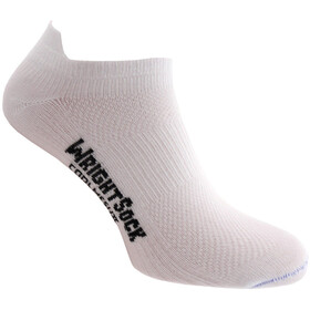 Wrightsock Coolmesh II Low Tab Sukat, white
